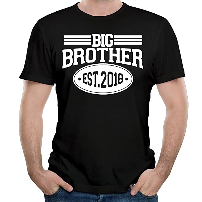 Amazon Com Wyf Mens T Shirts Fashion Gift Idea For Big Brother Best