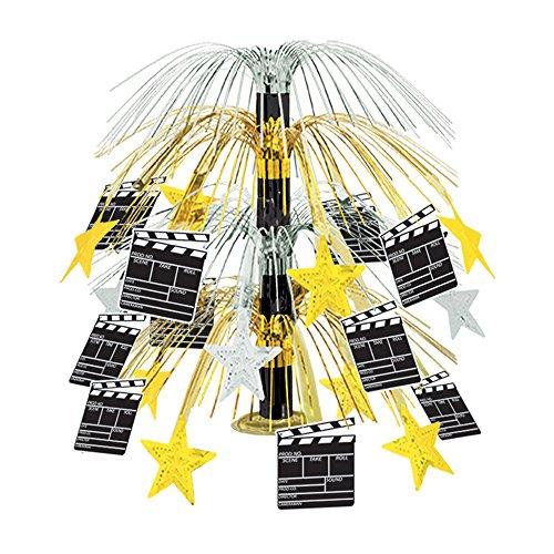 Beistle - 50447 - Movie Set Clapboard Cascade Centerpiece - Pack of 6