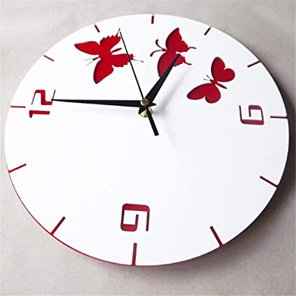 SHFISIKI Wall Clock Modern Design Clocks Reloj De Pared Acrylic Mirror Living Room Quartz Watch Home