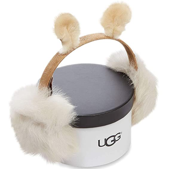 1524f8f7e77 UGG Girls Fluff Squad Earmuff in Chestnut: Amazon.co.uk: Clothing