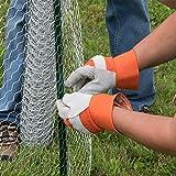 YARDGARD 308464B Fence, 25 feet, Silver