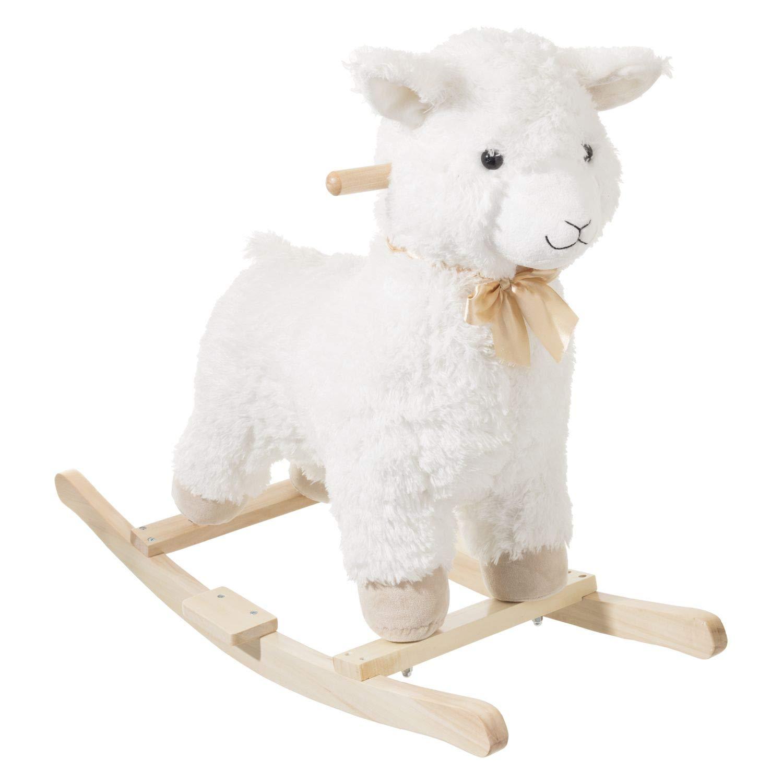 Mouton à Bascule - H. 49 cm - Blanc Be Toys