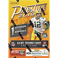 $24 » 2019 Panini PRESTIGE Football Series Unopened Blaster Box of Packs with One Autograph or EXCLUSIVE Memorabilia and 8 Rookie Cards in…