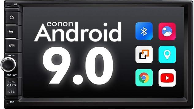 Amazon Com 2020 Double Din Car Stereo Android Radio With Bluetooth 5 0 Eonon 7 Inch Android 9 0 Car Radio Android Head Unit Car Stereo Support Android Auto Fast Boot Apple Carplay No Dvd Cd Ga2176 Electronics