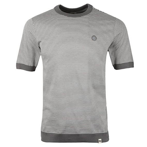 58b0ee949fc Pretty Green - S S Striped Ribbed Tee