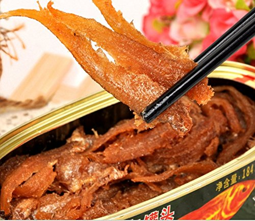Canned anchovies 18 cans total net weight 3312 grams (184gX18 tins), seafood from South China Sea Nanhai by JOHNLEEMUSHROOM