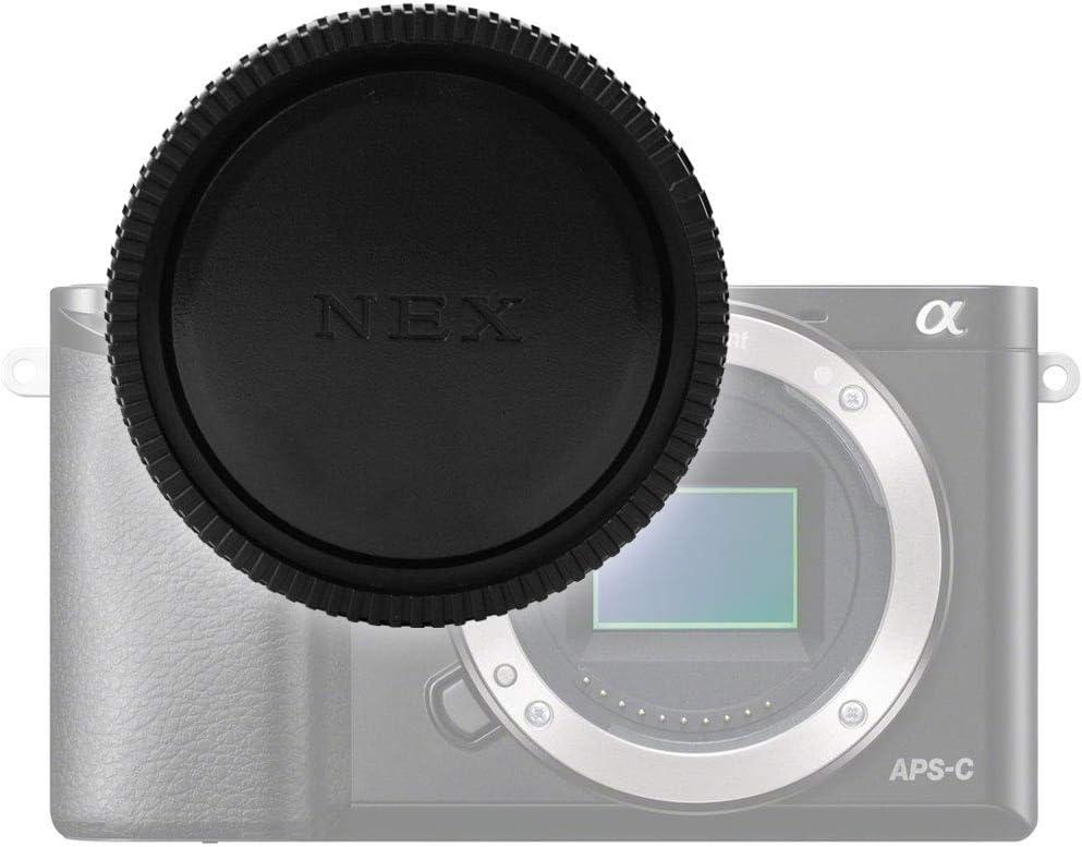 ALC-B1EM Ba/ïonnette Couvercle Capot protection E-Mount Capuchon bo/îtier Body Cap compatible avec Sony ILCE NEX-5 NEX-7 NEX-VG900 Alpha 5000 A5100 A5300 A6000 A6300 A6400 A6500 Alpha 7R II A7S II