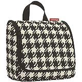 reisenthel Toiletbag, Hanging Wash Bag, Make-Up Bag, Beauty Case, fifties black, WH7028
