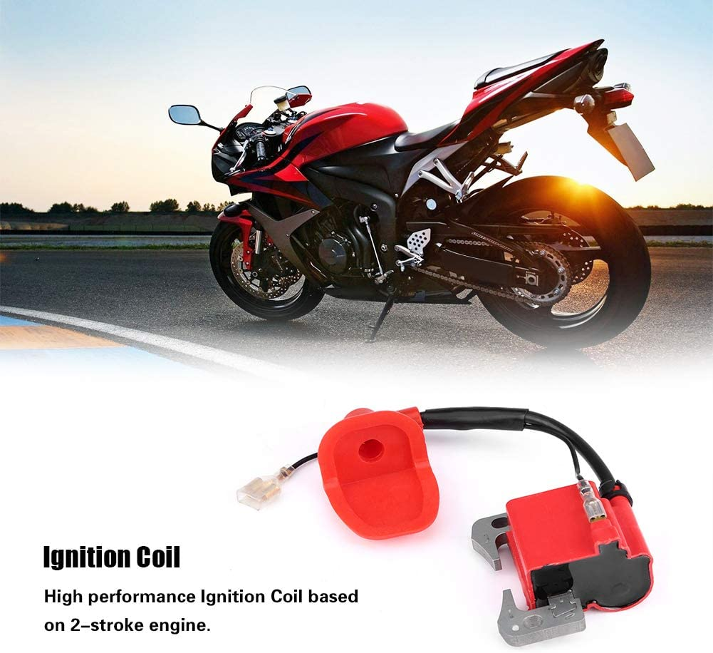 Dirt Bike Mini Quad /& Chinese Gokarts Scooters Mopeds KIMISS ATV Scooter Ignition Coil for 2-Stroke Pocket Bike