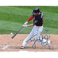 $35 Get Autographed Tyler Naquin Photo - 8x10 W Coa - Autographed MLB Photos