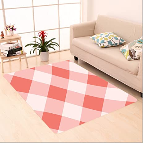 Amazon.com: Nalahome Custom carpet Decor Vintage Peach Echo ...