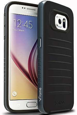 Amazon.com: Samsung Galaxy S6 Funda – Vena [vFrame] Marco de ...