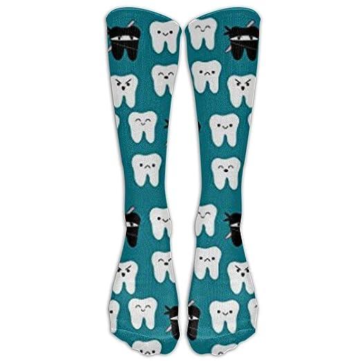 Amazon.com: Tooth Fabric Way Of The Ninja Tooth Knee High ...