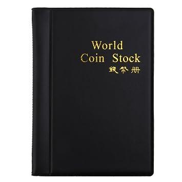 af979e00fc Album raccoglitore per monete da collezione, raccoglitore di 120 monete:  Amazon.it: Giochi e giocattoli