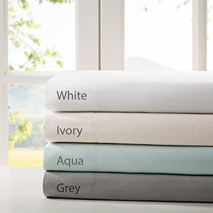 Smart Cool Microfiber King Bed Sheets, Casual Aqua Cooling Sheets, Cooling  Bed Sheets 4
