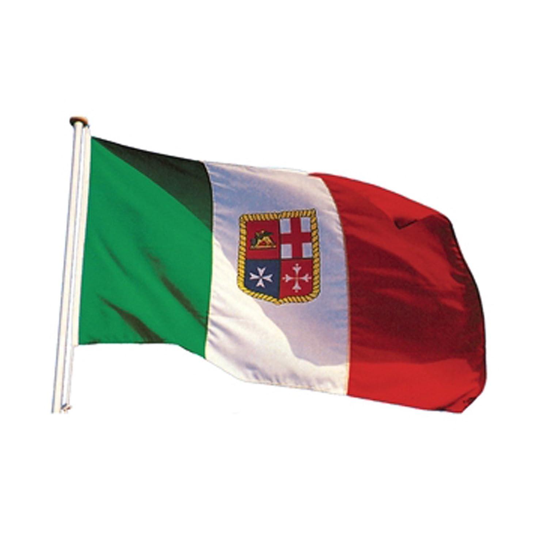 Bandera italiana Nautica Marina Mar Marino 200 X 300 mm Embarcaciones Tricolor