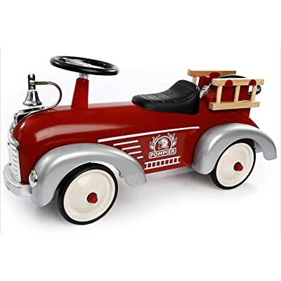 Baghera Speedster Fireman Ride On Car: Toys & Games