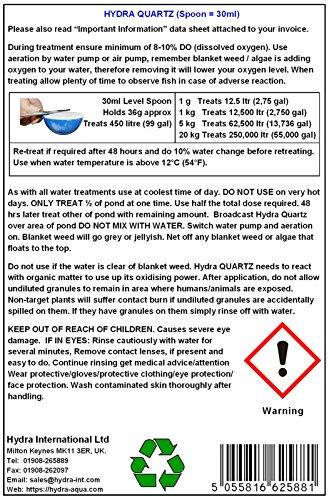 1Kg Quitar Filamentosas Algas Hydra Quartz, Algas ...