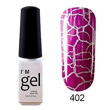 Clearance Sale! Nail Gel Polish for Girls, Iuhan Womens Shiny Nail Polish Nail Art