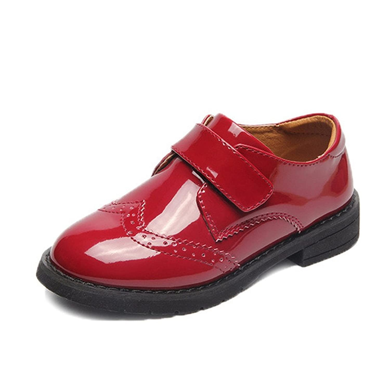 T-JULY Girls School Uniform Oxfords Dress Shoes Shiny Mary Jane Shoes (Toddler/Little Kid/Big Kid)
