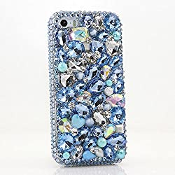 Genuine Crystals Protective iPhone Xs/S Case Cover
