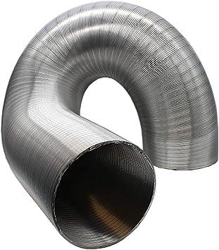 """Semi Rigid Aluminium Duct 8/"""" 200mm x 3m Ventilation duct Kitchen Exhaust duct"""