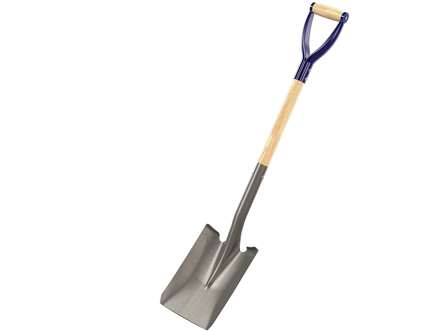 Bon 14-263 Contractor Grade Square Point Shovel with 27-Inch D Handle