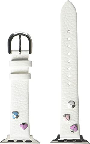 Kate Spade New York Interchangeable Leather Band Compatible with Your 38/40MM Apple Watch- Straps for use with Apple Watch Series 1,2,3,4,5,6