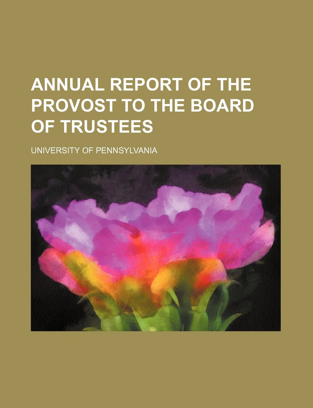 Download Annual report of the provost to the board of trustees PDF