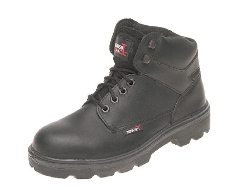 Briggs 1200bk040 Himalaya Sicherheit Stiefel mit Stahl Zwischensohle  Zehenkappe  Größe 4  Schwarz
