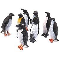 Zonster 12pcs Animal Modelo de Juguete de plástico