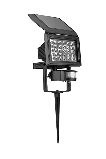 Wall Mounted Solar Lantern LED Light Lamp With Motion Sensor Garden Out Door