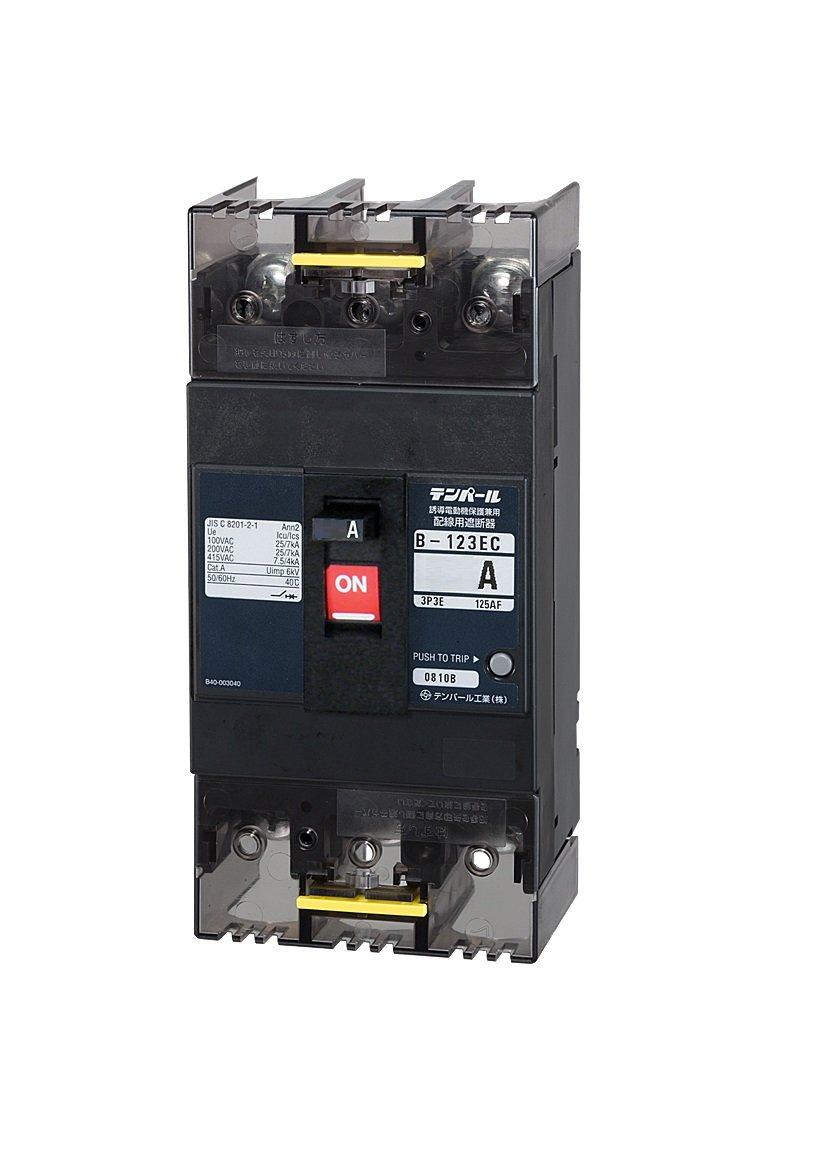テンパール 配線用遮断器 Eシリーズ 経済タイプ B123EC10 B01N0H63PU