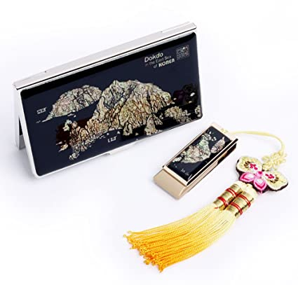 SET DUO DECOR nacarado usbcool-Memoria USB 8 GB, con tarjeta ...