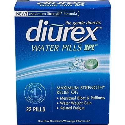Diurex Water Pills, 22 Count Pack Of 6)