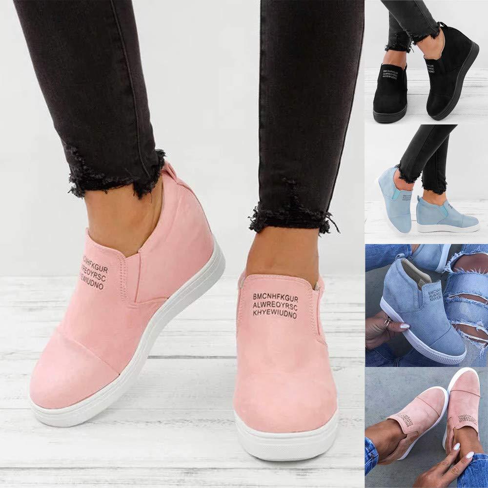 Viernes Negro JiaMeng Botines Plataforma Bota Boots Onal Moda Tobillo Carta Aumento de cuñas Navidad Zapatos Botas Cortas