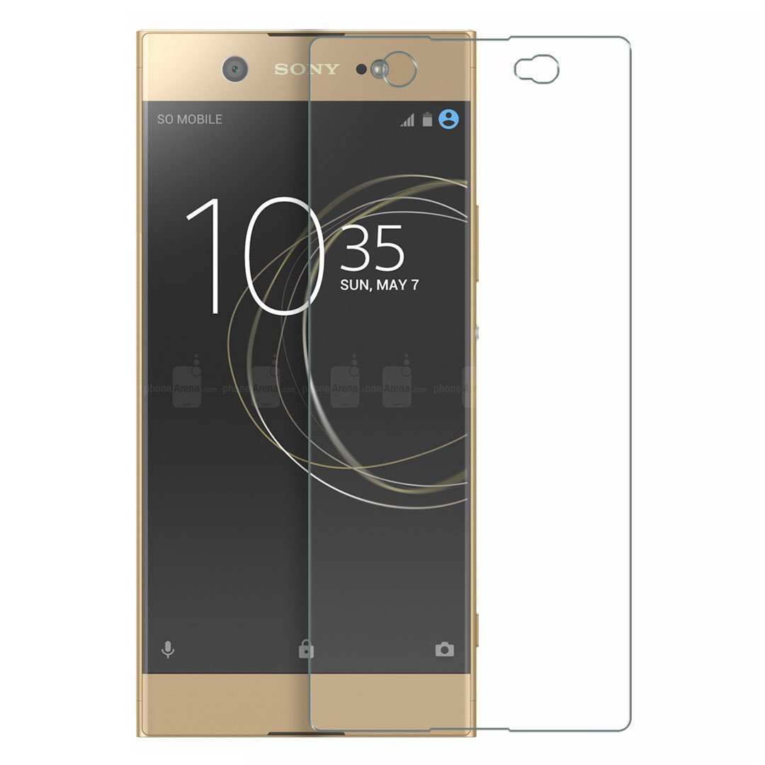 2 Pack Easy Installation Anti Scratch Tempered Glass Screen Protector for Sony Xperia XA1 CUSKING Screen Protector for Sony Xperia XA1 HD Crystal Clear