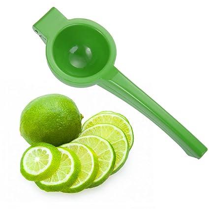urhause Exprimidor manual Exprimidor, Exprimidor Lima prensa Naranja Prensa Exprimidor para saftige fruta, verde