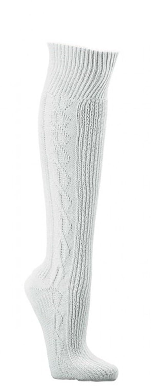 Hombre Traje Regional Medias Pantalones de la Rodilla Medias Uni de Color Blanco Estampado Trachten de Mode CH de 686