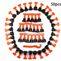 OurLeeme 50PCS Nivelador azulejos, forma T Espaciadores