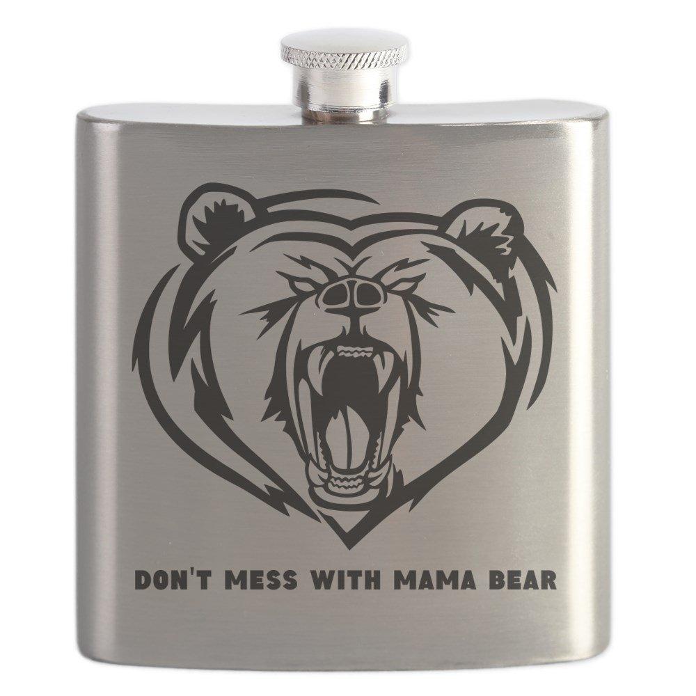 消費税無し CafePress – B01IUKGEVK With Dont Mess Mama With Mama Bear – ステンレススチールフラスコ、6オンスDrinkingフラスコ B01IUKGEVK, ペアジュエリー テラグラティア:b07bb44d --- venuscreatives.in