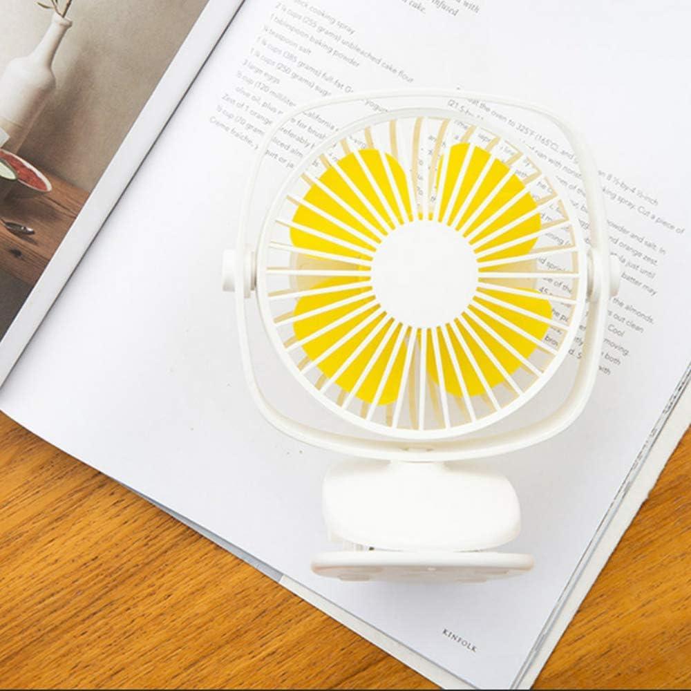 USB Clip Fan Creative Personality Mini Mute Desktop Fan Charging USB Clip Fan Student Fan Summer Portable Small Fan