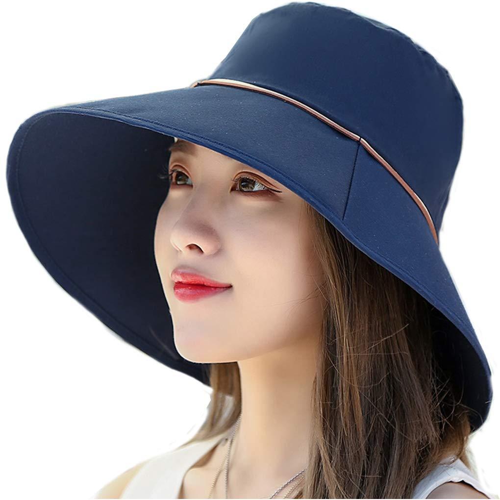 Cappello da Sole Donna Cappello con Protezione Solare da Sole Pieghevole con Protezione UV UPF 50 Arrampicata Allaperto Escursionismo Pesca
