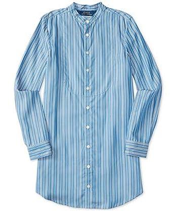 fc4a1c56366 RALPH LAUREN Polo Girls  7-16 Striped Long Sleeve Shirt Dress Shirtdress (7