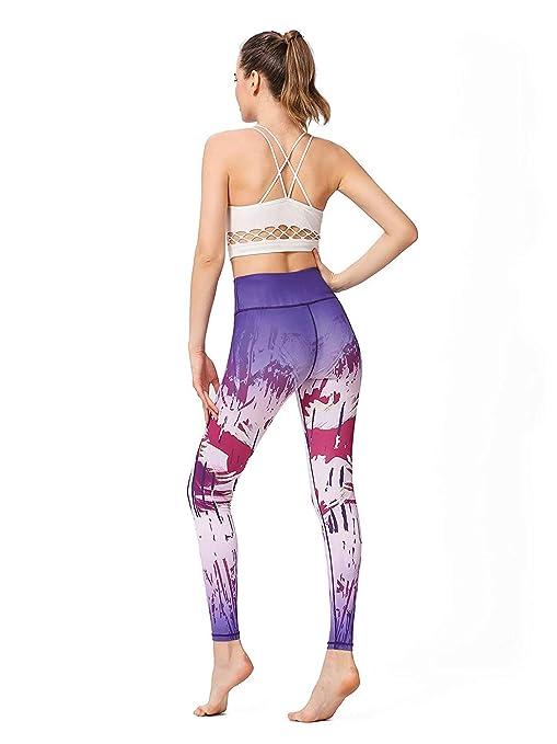 LZY Pantalones de yoga estampados para mujer Pantalones ...