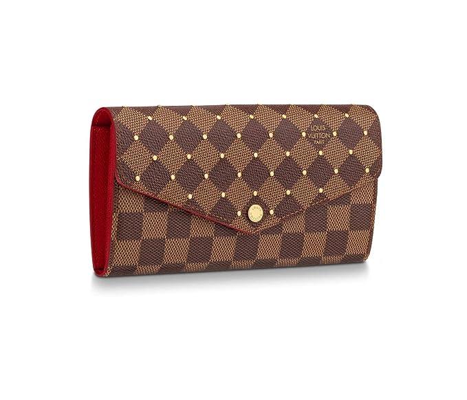 3131d2cbfa2 Louis Vuitton Damier Ebene Canvas Sarah Wallet N60123 Limited ...