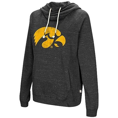 """Iowa Hawkeyes Women/'s NCAA /""""Scream It/"""" V-neck Hooded Sweatshirt"""