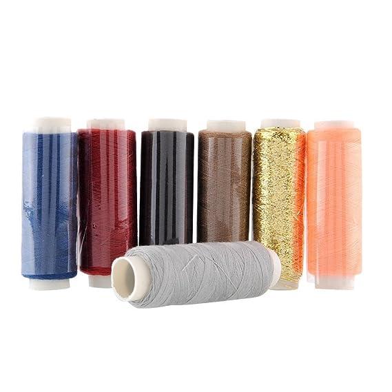 Una caja de 39 colores hilos rollos de 250 metros de colores Colores 100% Polyesterr, punto de cruz hilos para tejer by DELIAWINTERFEL: Amazon.es: Juguetes ...