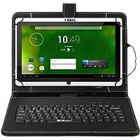 I Kall WiFi Tablet with Keyboard (7 Inch Display, 2GB Ram, 16GB Internal Storage) - White