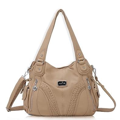 039bc8e967a0c angel kiss Hobo Tasche Schultertaschen Handtaschen Umhängetaschen  Henkeltaschen Fredsbruder Taschen Damen Weiches Leder (1555-